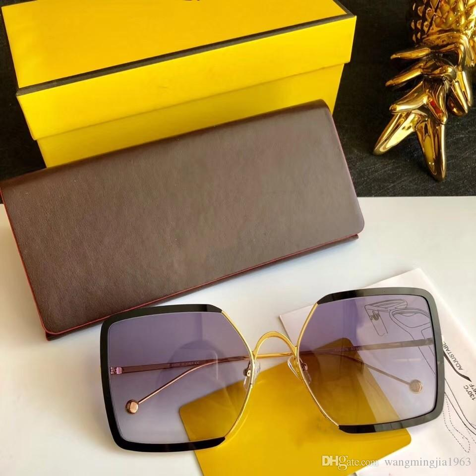 New qualidade superior 0876 mens óculos homens vidros de sol mulheres óculos de sol estilo de moda protege os olhos Óculos de sol lunettes de soleil com caixa