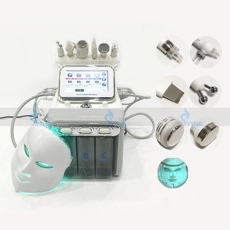 Oksijen Hydra Yüz Makine Hidro Mikrodermabrazyon Cilt Bakımı Makine Evde Kullanım Spa Hydrafacial Gençleştirme Kırışıklık Kaldırma Akne Tedavisi
