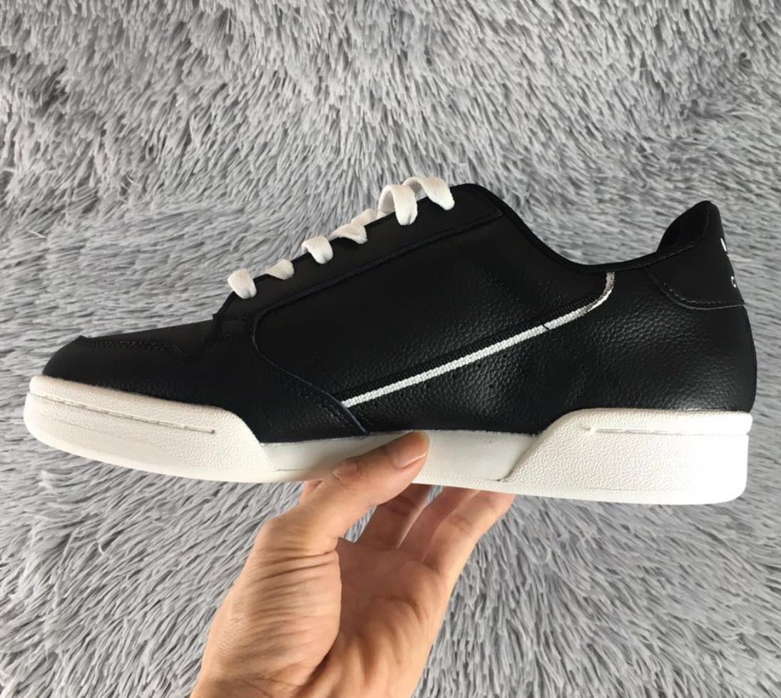 Großhandel 2019 Designer Shoes Adidas Men Women Neue Continental 80 Og Rindsleder Board Schuhe Originals Continental 80er Jahre Gauner Männer Dämpfung