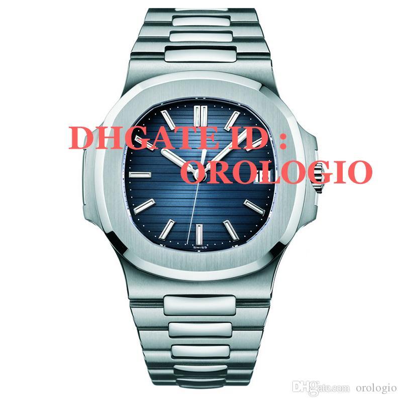 【 code: OCTEU06 】Montre de Luxe Herren Automatische mechanische Bewegungsuhren voller Edelstahl Saphir Super leuchtend 5ATM wasserdicht U1 Armbanduhren