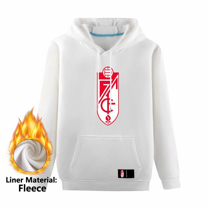 Granada CF Erkek Kazak Hoodie Tişörtü, Granada CF Yetişkin Futbol Hoodies Sweatshirt Eğitimi futbol ceketler Erkek Hoodies Sweatshirt