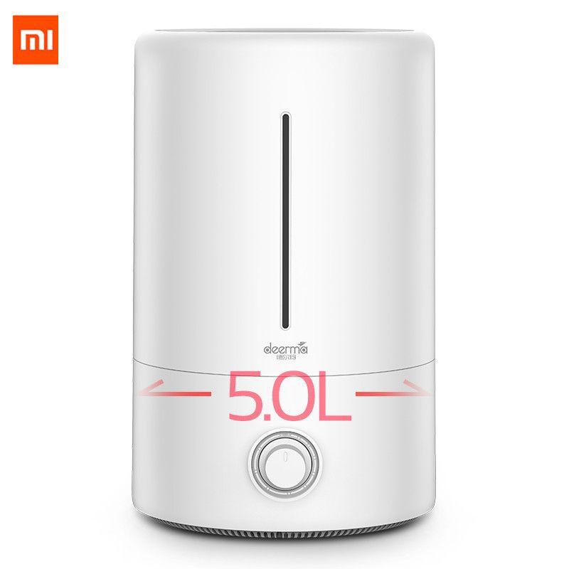 Xiaomi originale Mijia deerma 5L Air Humidifier 35dB tranquilliser Air purifiant chambres climatisées ménage Bureau