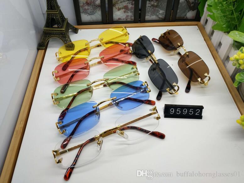 2020 lunettes de soleil pour les femmes mens nouveau vintage rétro lunettes de soleil lunettes de corne de buffle mode cerclées cadre de lunettes de soleil d'attitude de haute qualité
