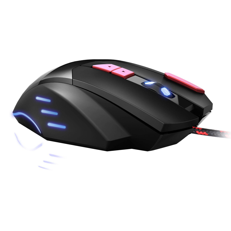 BLOODBAT USB Проводная оптическая 3200DPI Компьютерные мыши Gaming Mouse 7-Key Светящиеся Дыхательные Light Firepower Key Проводная мышь Бесплатная доставка
