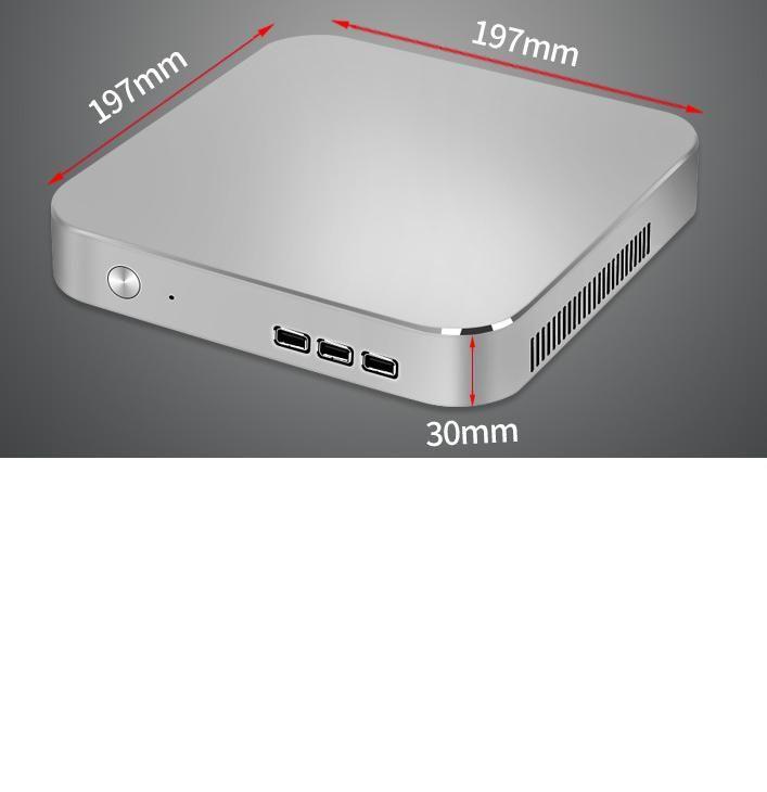Mini pc I7 5500 8G 240G do Windows 300M WIFI Preto
