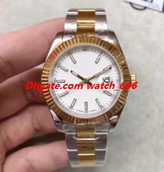 Новая версия U1 Factory Мужчины наручные часы 41мм 126334 126333 126234 126233 Автоматический Браслет из нержавеющей стали класса люкс Мужчины Часы Бесплатная доставка