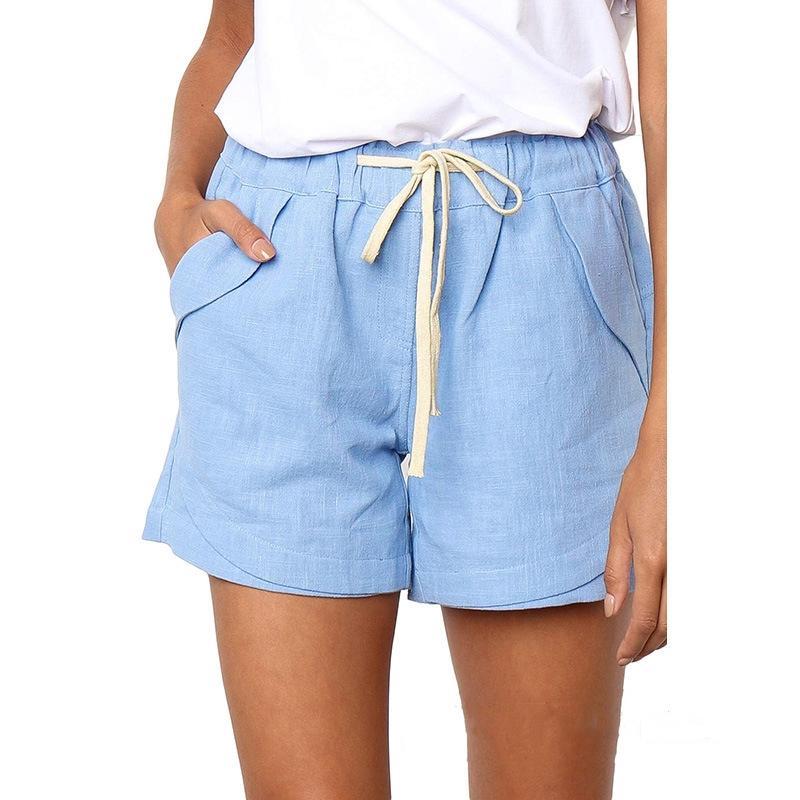 Womens Summer Board Shorts Man Knee Length Casual Fashion Home Sport Short Letter Pattern Printed Pants Women #175