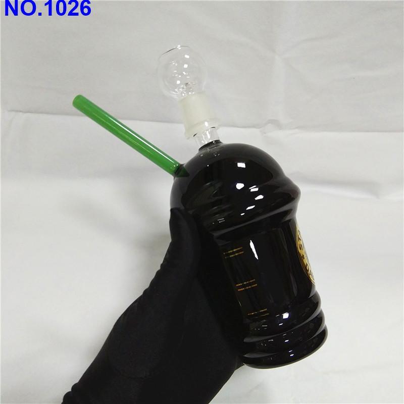 Star Cup-Buck Negro Color de cristal Bongs de vidrio del tubo de agua de 18 mm plataformas petrolíferas zz cristal Conjunto