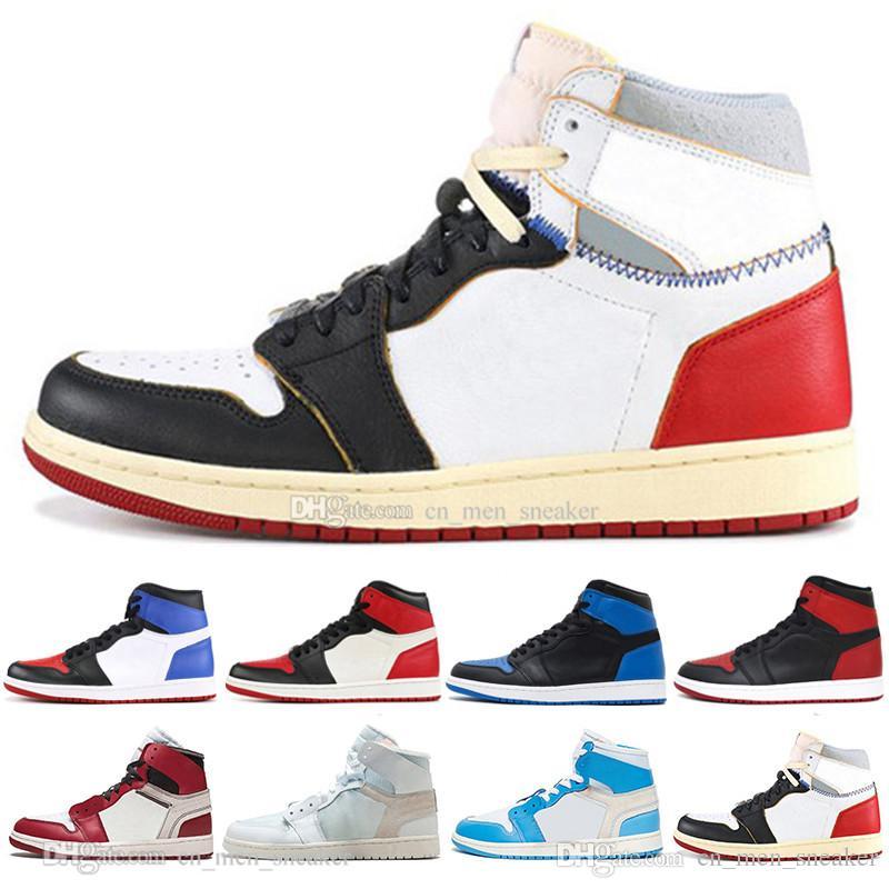 Barato NRG OG 1 Top 3 Zapatillas de baloncesto para hombre Chicago Bred Banned Black Toe Royal Blue No para revender 1s para hombre zapatillas deportivas zapatillas de deporte de diseño