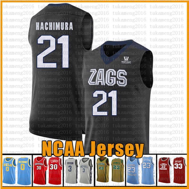 12 De'Andre Virginia Cavaliers Hunter Basketball Jersey 21 Rui Universidade NCAA Hachimura balck