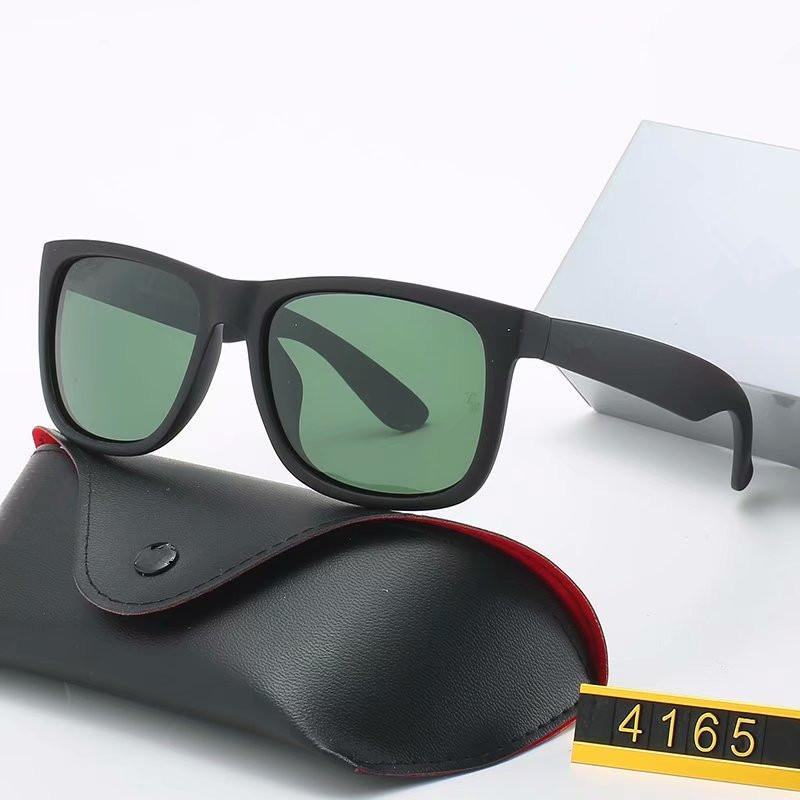 2020 nouvelle conception de marque lunettes de soleil polarisées Hommes Femmes pilotes Lunettes de soleil UV400 Lunettes Des lunettes de soleil en métal conducteur Cadre verre Polaroid lentille