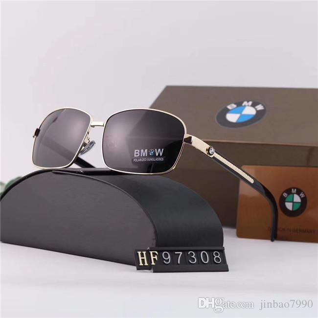 Top Quality Lens Luxury Sunglasses square frame Sunglasses For Men Designer Women Sunglasses Vintage Metal Sport Sun Glasses With Box-GSH