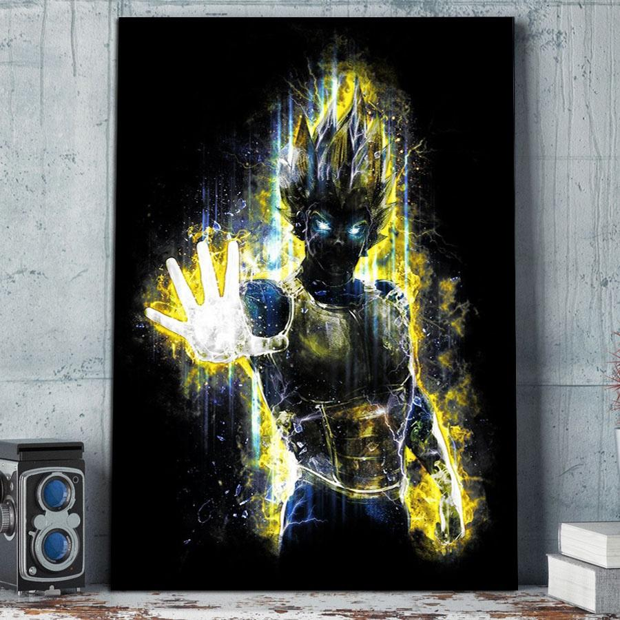 Cross Stitch DIY Painting 5D Diamond Home Decoration Dragon Ball Goku Picture Embroidery Pattern Wall Sticker Full Drill EE1235