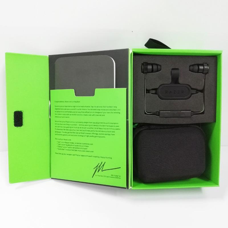 2020 Razer Hammerhead BT RZ04 Bluetooth Wireless Headphones Bluetooth Earphones with Retail Sealed Box Free Ship free ship