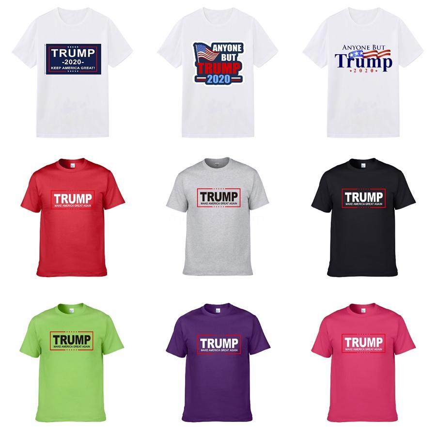 Shirt Fashion Designer girocollo Trump magliette per manica lunga da uomo bianco Casual Uomo Abbigliamento di lusso maglietta vestiti S-XXL # 495