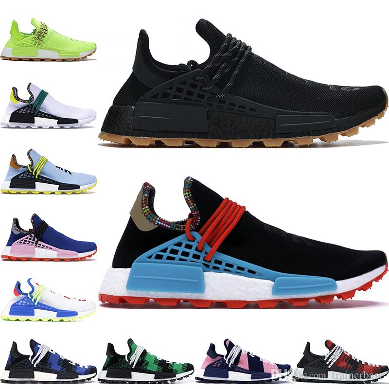 2020 سباق جديد الإنسان NMD الاحذية الحبر فاريل وليامز هو درب أوريو نوبل الأسود الطالب الذي يذاكر كثيرا المصمم حذاء حذاء رياضة الرجال رياضة المرأة 36-47