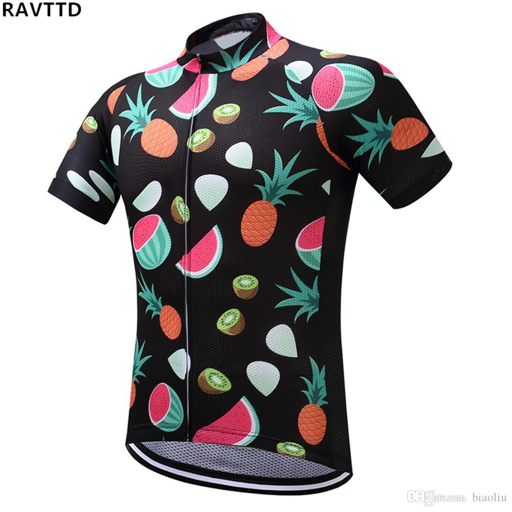 фрукты команда Велоспорт Джерси дышащий летний велосипед ткань MTB Ropa Ciclismo велосипед Майо Джерси только быстро сухой велосипед Джерси