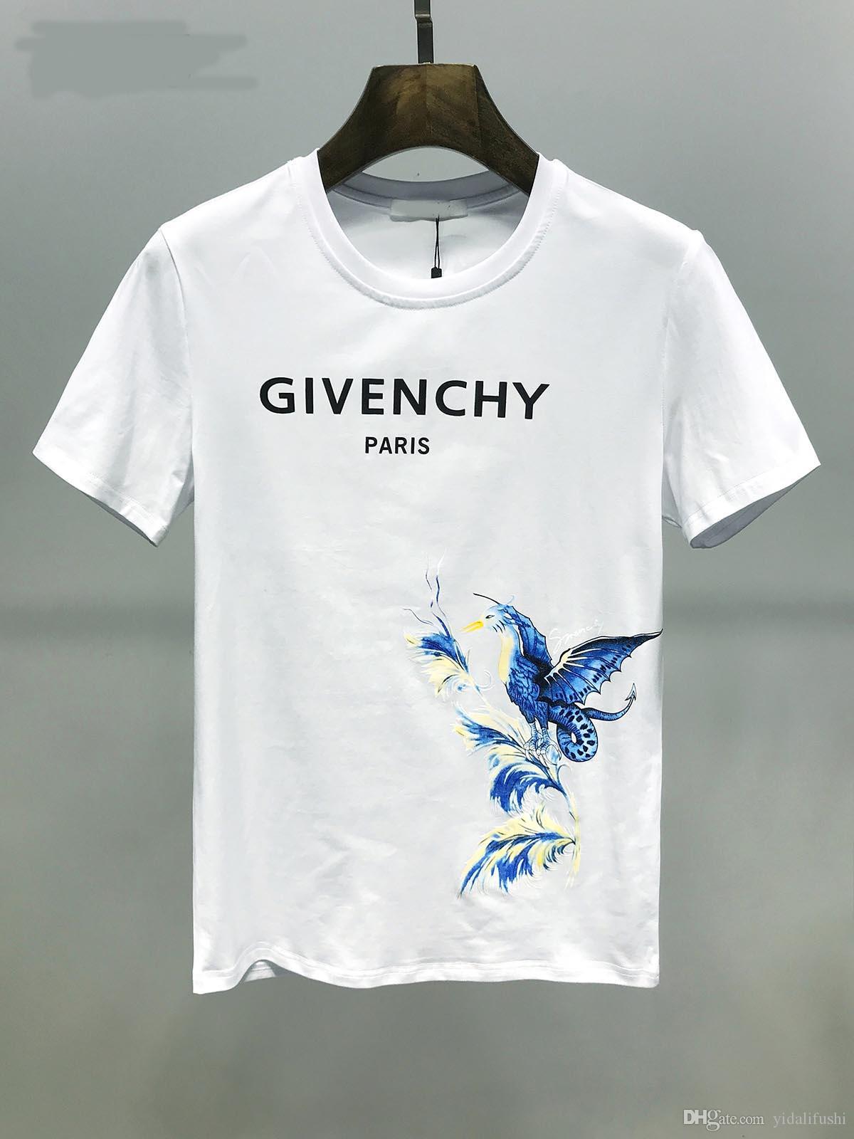 gru T-shirt estate uomo di lusso 2020 bimbo e neonato hip hop uomini di modo e delle donne a maniche corte maglietta di formato S-3XL