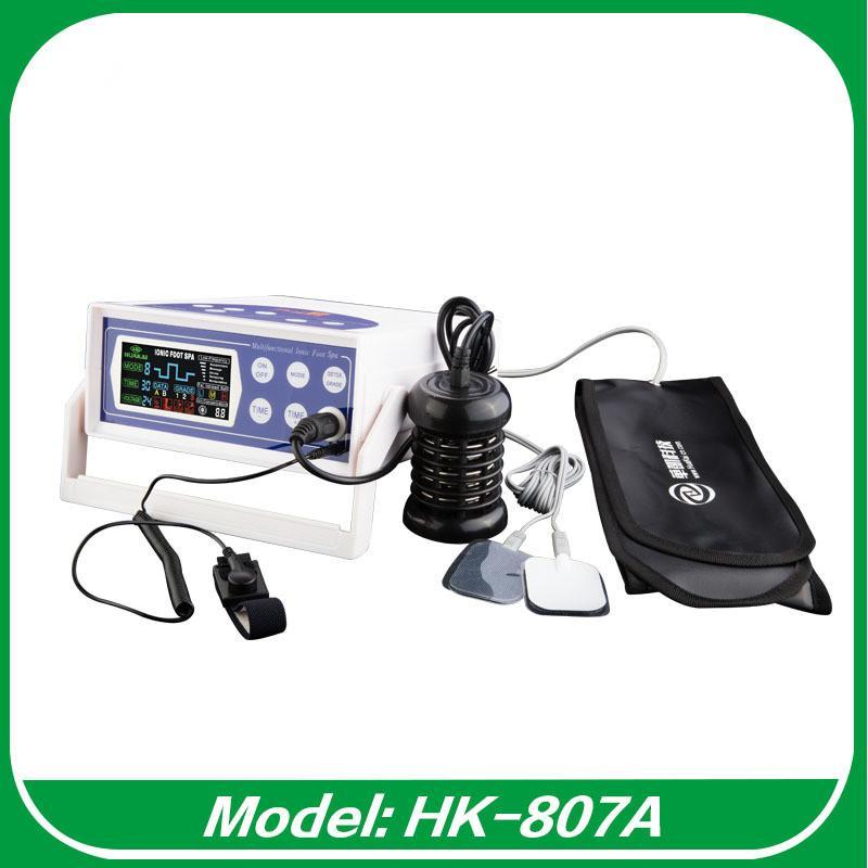 컬러 디스플레이 풋 해독 기계 높은 ORP 발 스파 마사지 건강 관리 이온 정화 FIR 벨트 DHL / EMS 무료