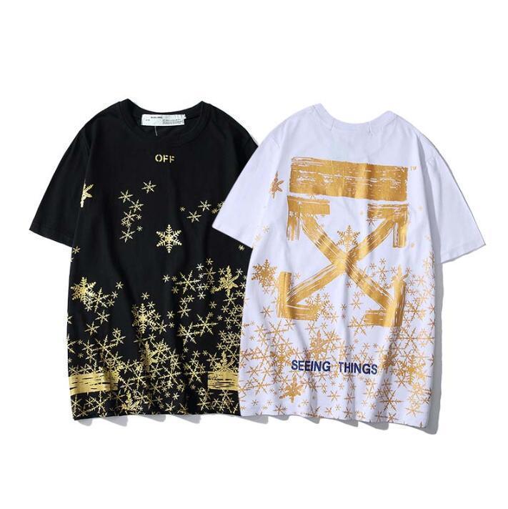 Für Männer und Frauen 2020 Art und Weise Sommer-T-Shirt mit geometrischer T Brief druckt Rundhals-T Shirt Kurzarm weiblicher kurzen T-M-XXL Q16