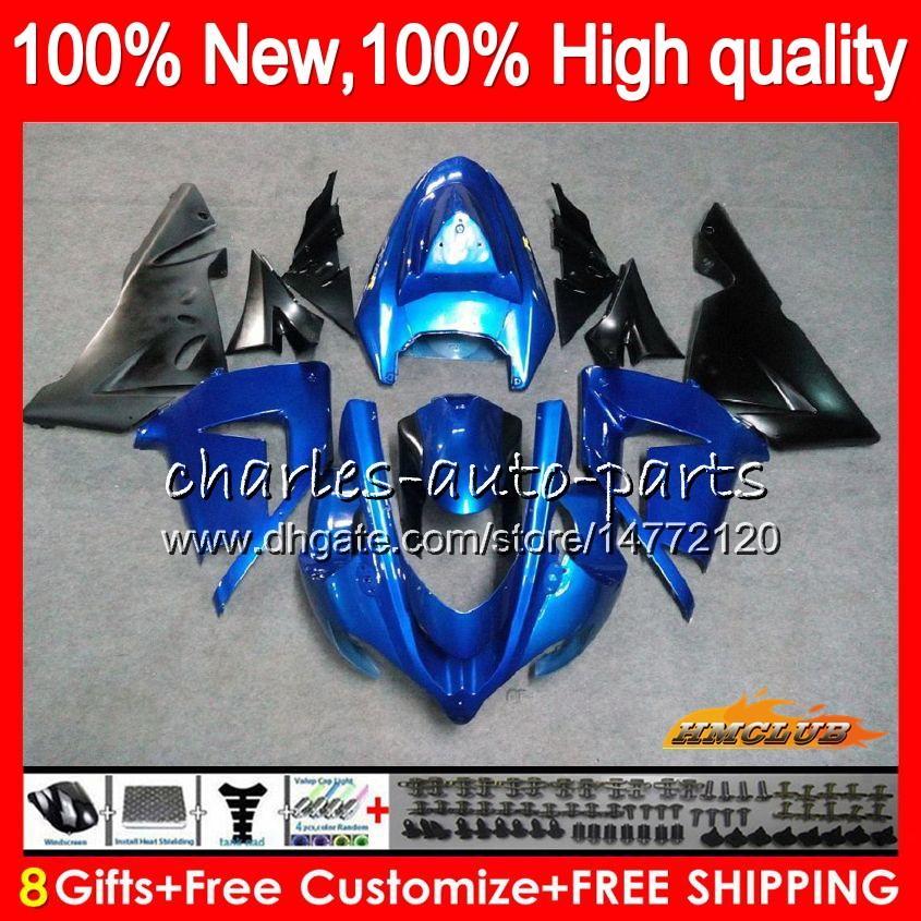 Bodys Pour KAWASAKI ZX 1000 greeen usine CC ZX 10 R ZX10R 04 05 Carrosserie 43HC.9 ZX10R 04 05 ZX1000CC 1000CC ZX 10R 2004 2005 Kit Carénage