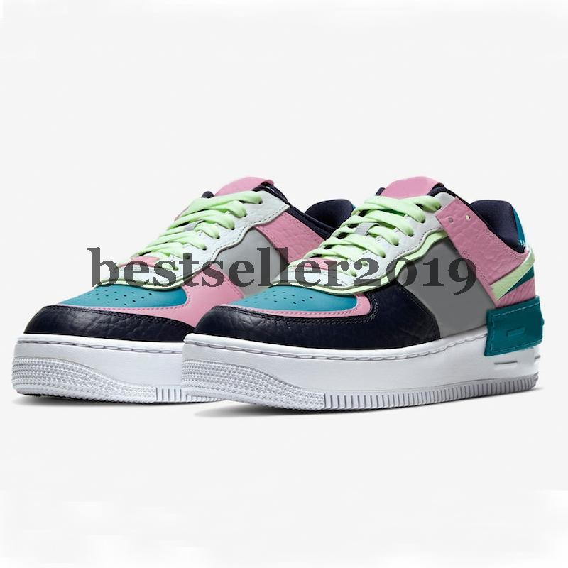 2020 Macaron Utility 07 1s Hommes Ombre Tropical Twist Chaussures de course pour femmes de planche à roulettes Chaussures de sport Sport dunk un des Chaussures Zapatos