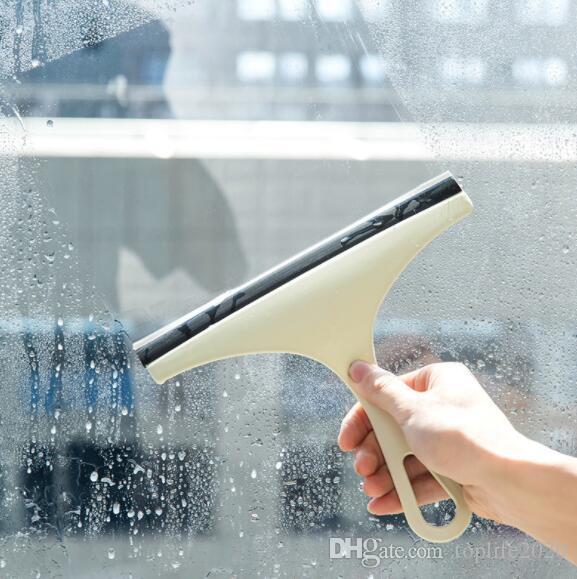 أدوات التنظيف 10PC زجاج السيارات ممسحة النافذة صابون منظف الممسحة دش الحمام مرآة مزدوجة حافة المعمرة المطاط حافة فرشاة بليد السيارات