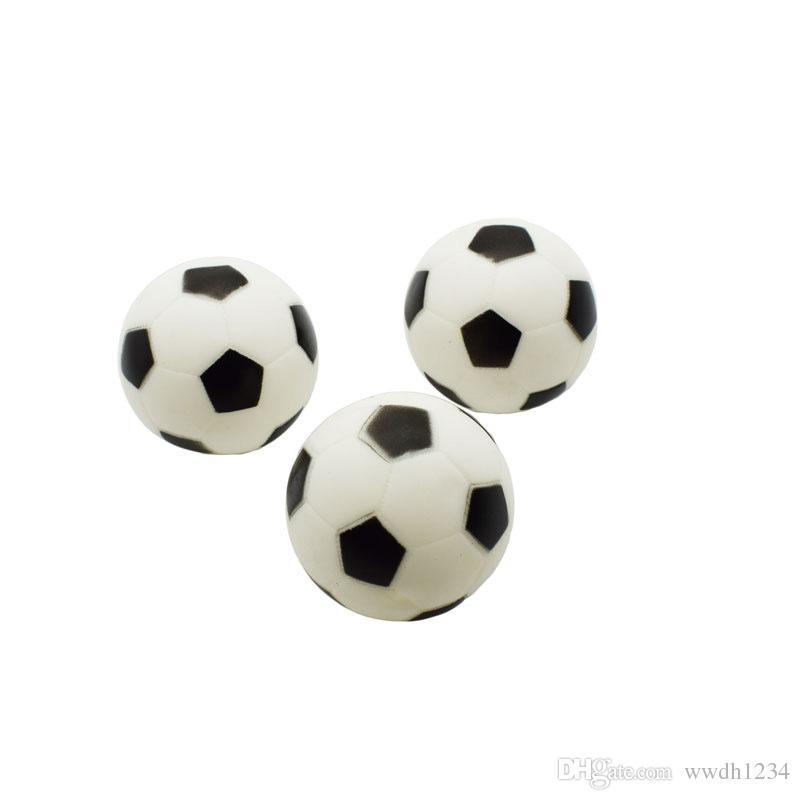 Pet oyuncak basit moda silikon futbol çapı 8.5 cm ses oyuncak siyah ve beyaz orta futbol ısırığı pet malzemeleri