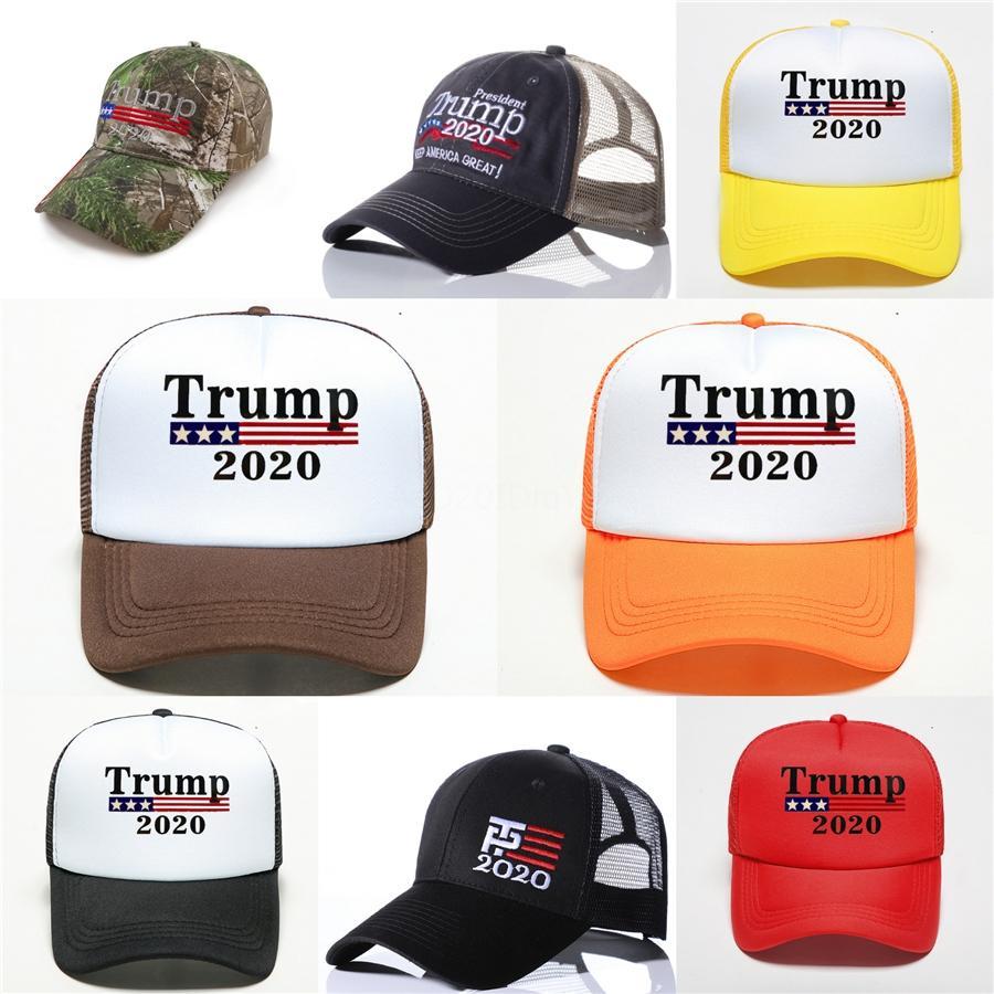 Новое прибытие Trump 2020 Бейсбол Hat Star Флаг США Keeping Америка Большой Cap 3D вышивки Письмо Регулируемое Snapback для мужчин Женщины # 464