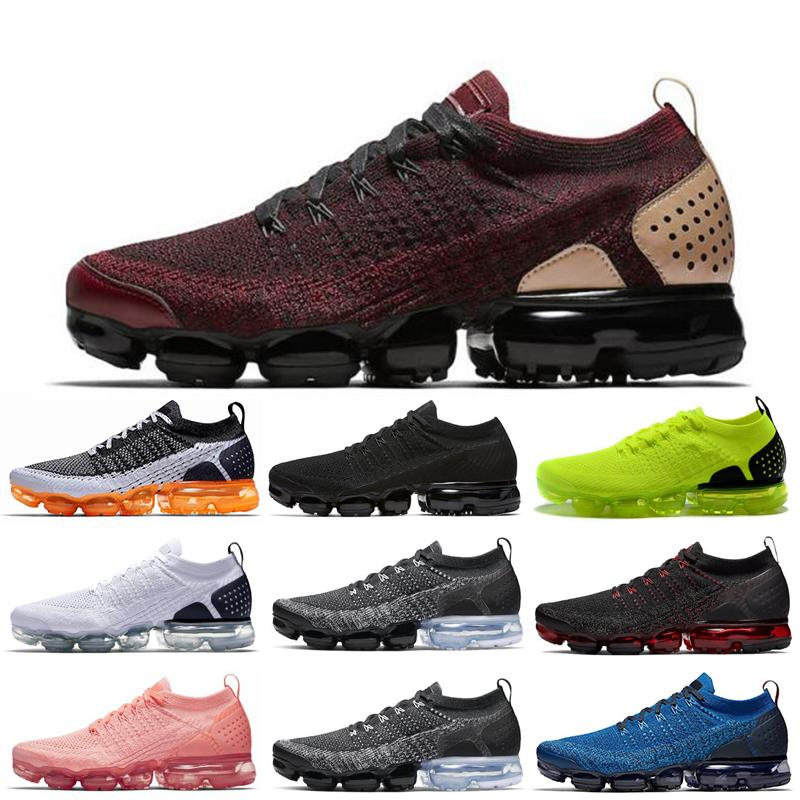 Nuevo estilo del deporte de los zapatos del diseñador Mango gimnasia azul CNY voltios gris carmesí pulso de los zapatos corrientes de los hombres Entrenadores tamaño de mujeres zapatillas de deporte 36-45