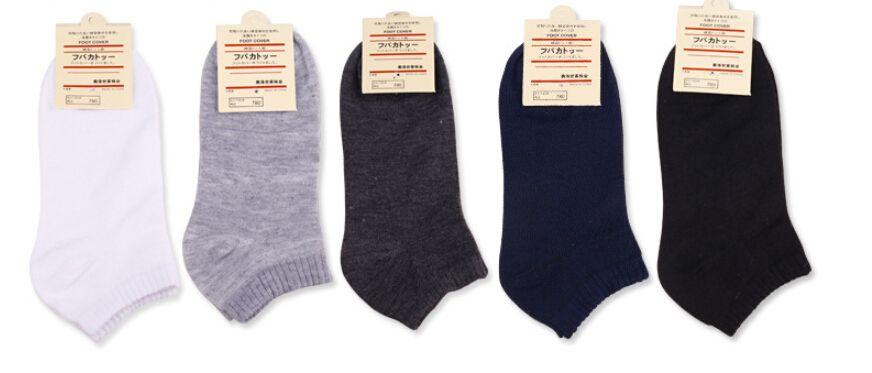 Calcetines ocasionales activas color sólido calcetines respirables 10 pares para hombre Deportes calcetín corto Zapatillas Calcetines Medias para hombre Accesorios Ropa interior fz0397