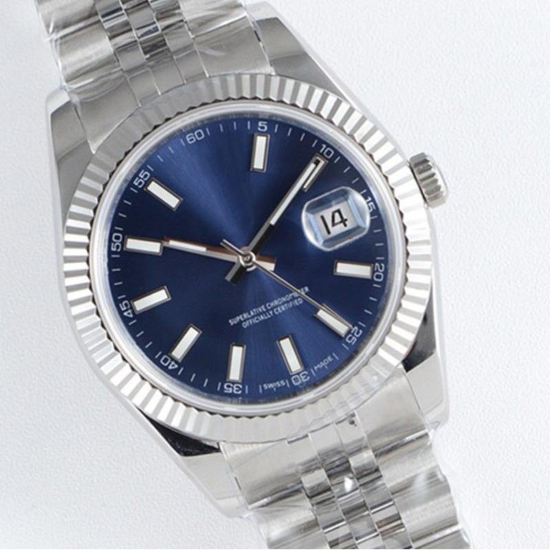 ساعة رجالي فاخرة 41 ملليمتر التلقائي حركة الفولاذ المقاوم للصدأ ساعات رجالية 2813 مصمم ميكانيكي الرجال datejust ساعات المعصم
