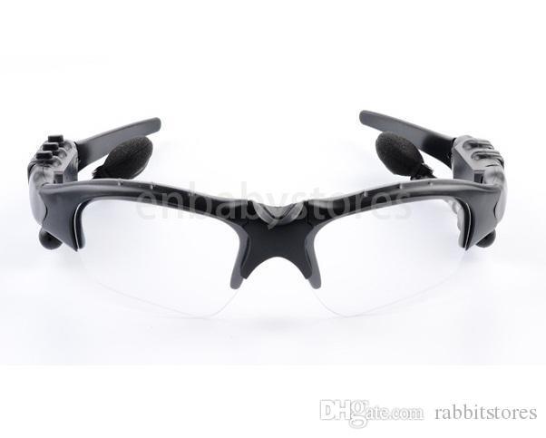 Senza fili Bluetooth V4.1 esterna Occhiali da sole di vetro di Sun Handsfree stereo AURICOLARE Earbuds Per Smart Phone In dettaglio HBS-368 10pcs