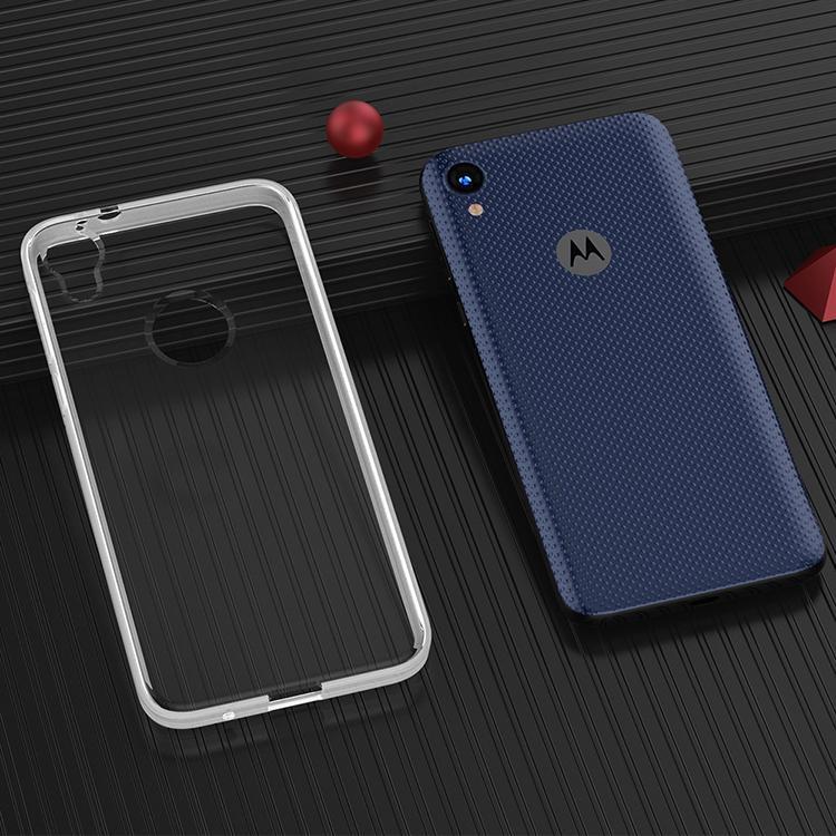 Pour Motorola G7 P40 G8 E6 JOUER E6 G STYLUS Protection anti-choc transparent épaisseur 2 mm TPU armure Phone Case Cover