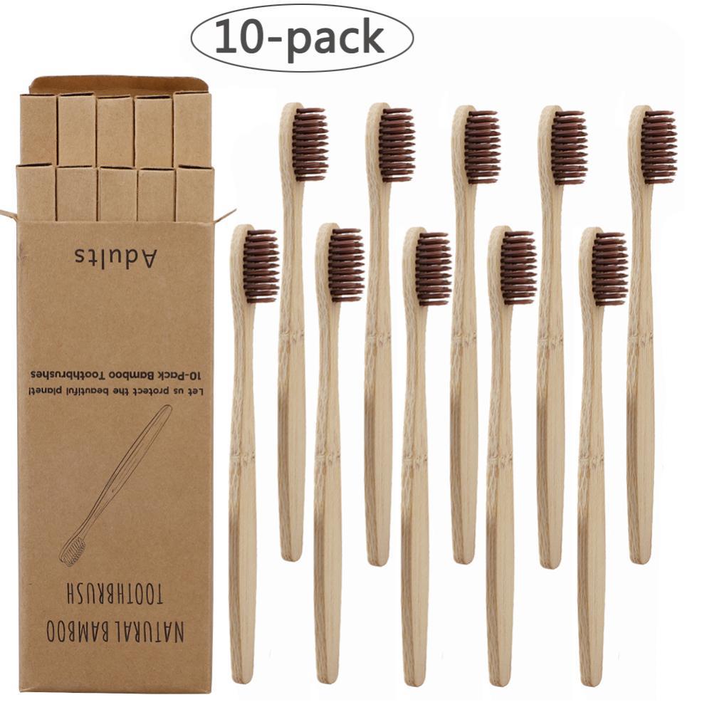 Fabricant gros Eco friendly brosse à dents poignée bambou sans BPA logo personnalisé étiquette privée avec étui biodégradable
