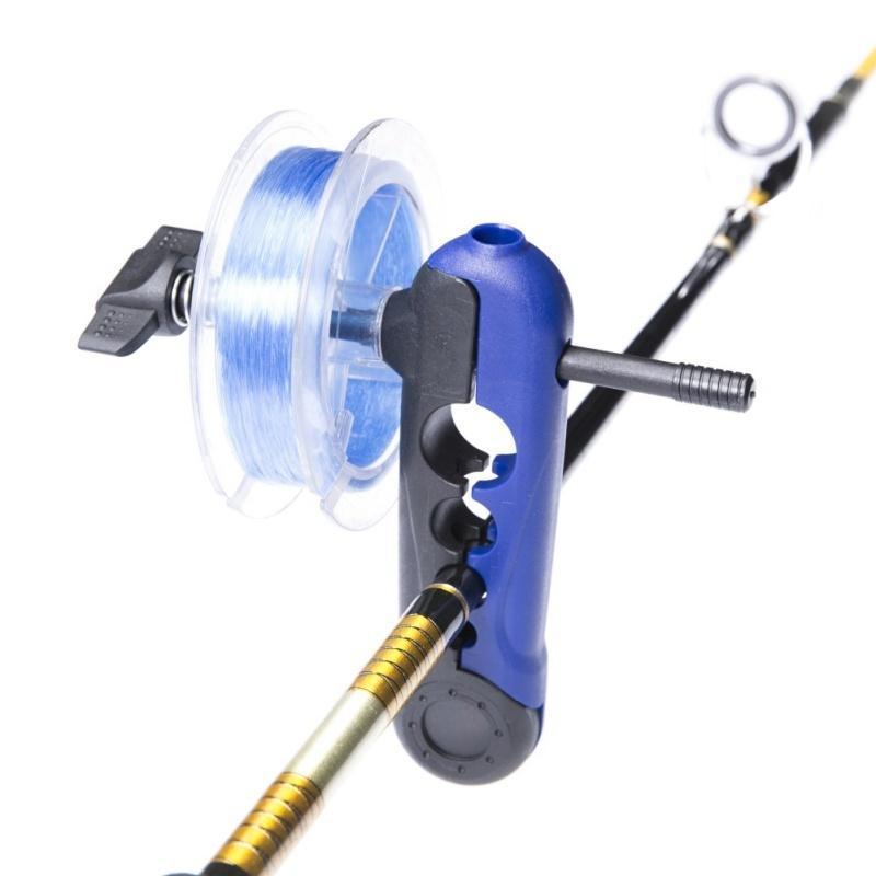 Portátil Universal Linha De Pesca Spooler Ajustável Para Vários Tamanhos Rod Bobina Bobina Enrolador de Linha de Carretel de Linha De Transporte Wrapper Mini