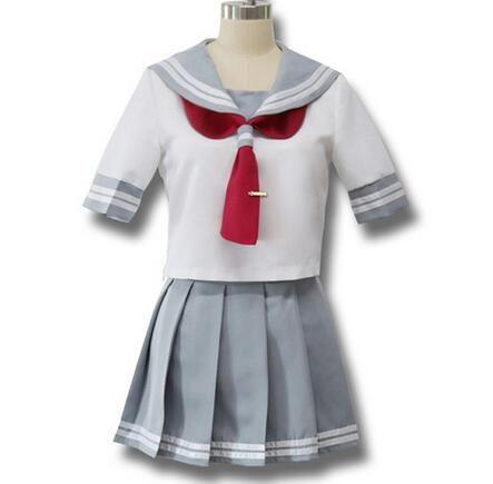 Japon Anime Aşk Canlı Sunshine Cosplay Kostüm Takami Chika Kızlar Denizci Üniformaları Aşk Canlı Aqours Okul Üniformaları