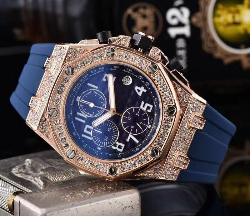 2020 free shipping all the dials work set auger sports watch crime watch quartz watch, leisure fashion watches