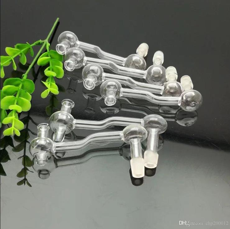 cogumelo transparente pan bongs vidro grosso queimador de óleo de vidro da tubulação de água plataformas petrolíferas fumadores, Oil.