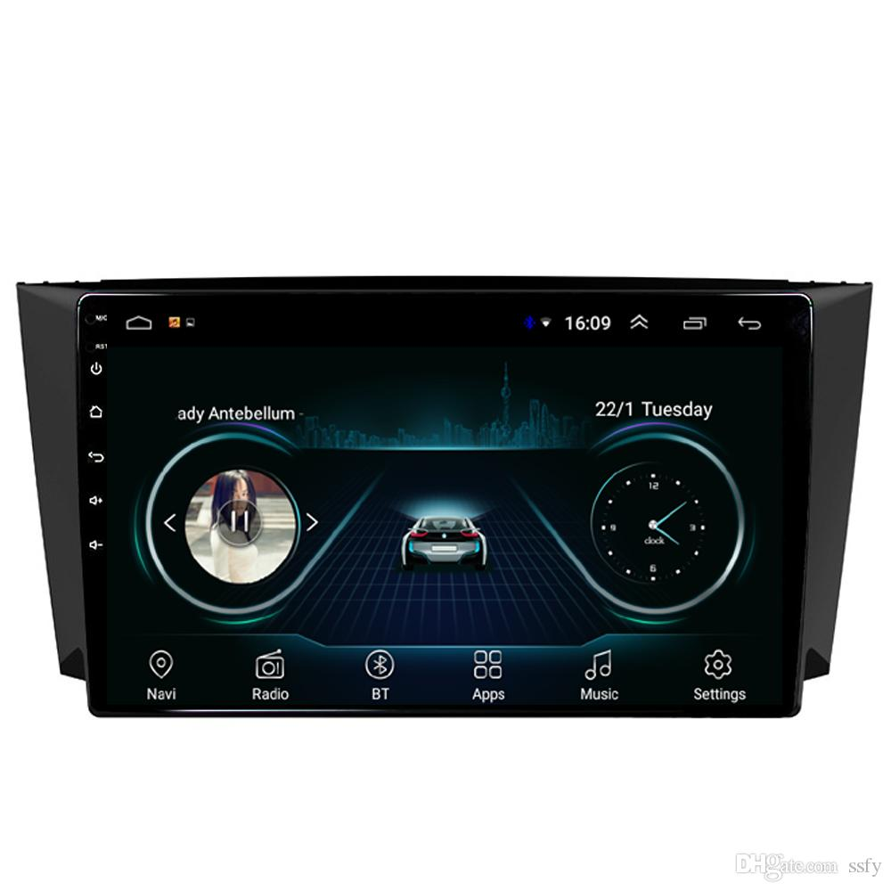 player do carro Android com HD 1080 multi-touch player multimídia de tela mapa gratuito excelente Bluetooth sem perdas mp3 mp4 música para Lifan X60 9inch