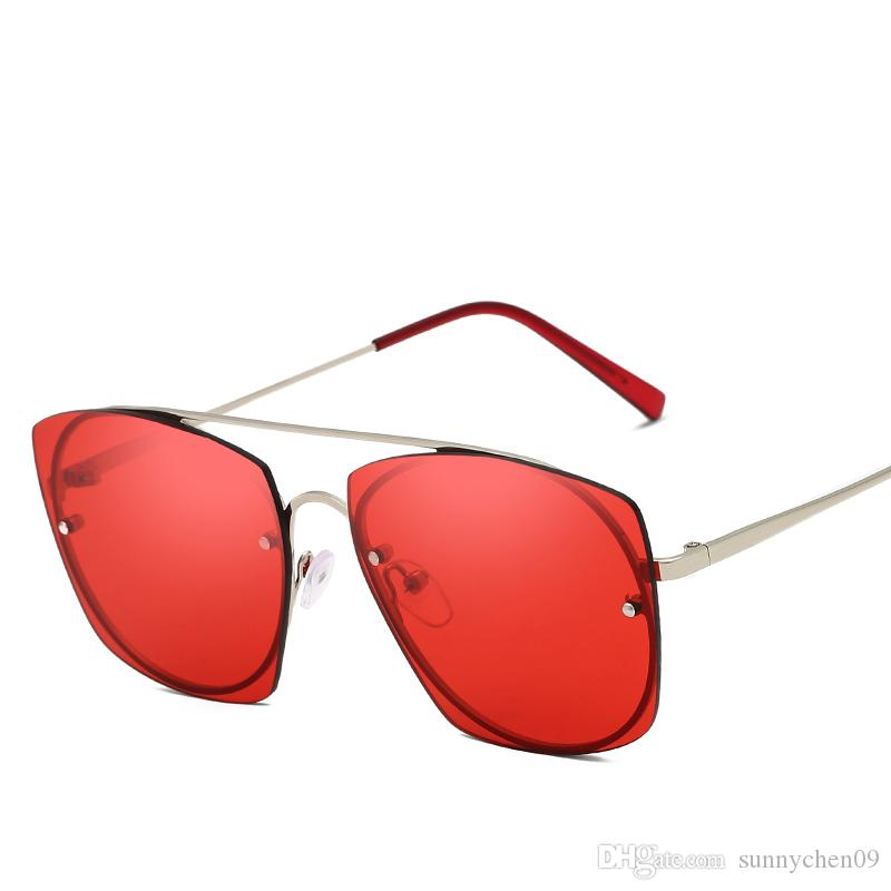 Новая мода в европейском стиле бренд дизайнер солнцезащитные очки 100% анти-УФ очки высококачественные солнцезащитные очки
