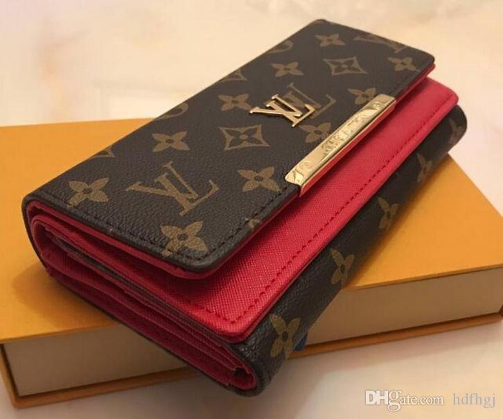 moda tek fermuar pocke tasarımcı kadın deri cüzdan bayan bayanlar uzun çanta 02