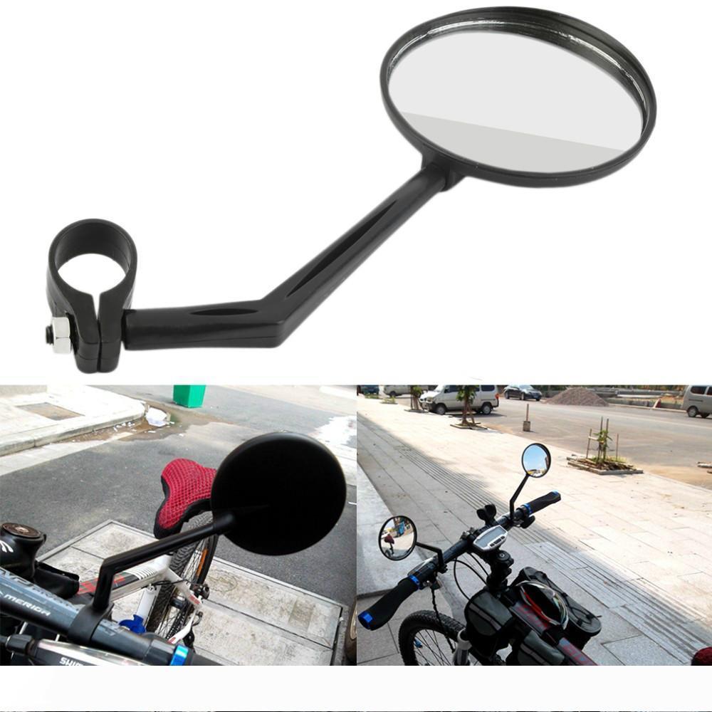 Поворотное гибкое Велосипедное зеркало велосипедный руль заднего вида Велоспорт зеркало заднего вида свет и простота установки аксессуары для велосипедов NY077