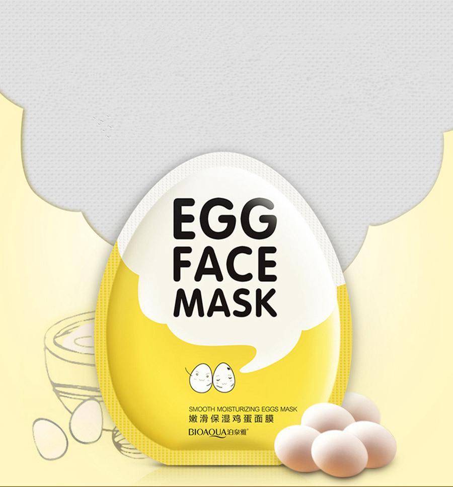 Яичные маски для лица Oil Control Brighten Wrapped Mask Нежная увлажняющая маска для лица Уход за кожей Увлажняющая маска RRA1686