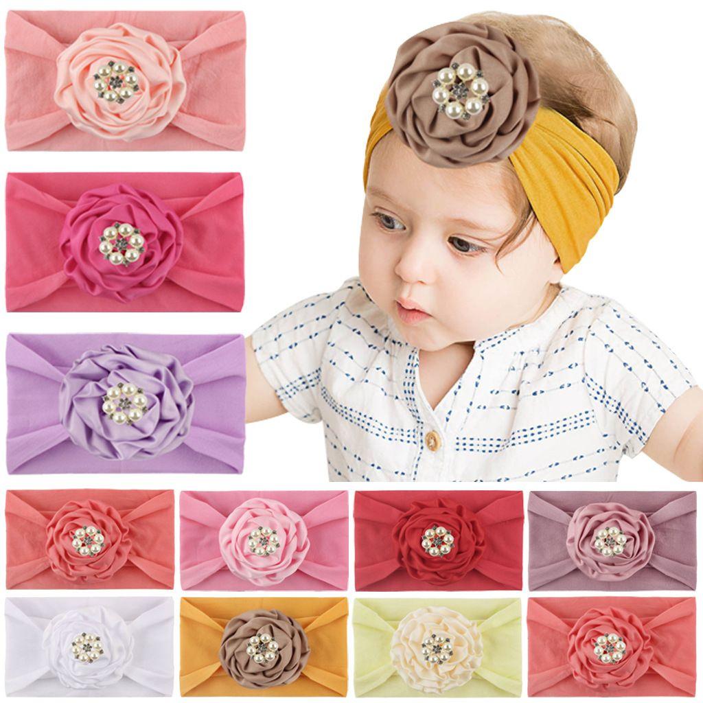 Baby Girls Kid Newborn Infant Toddler Headband Head Foot Flower Hair Accessories