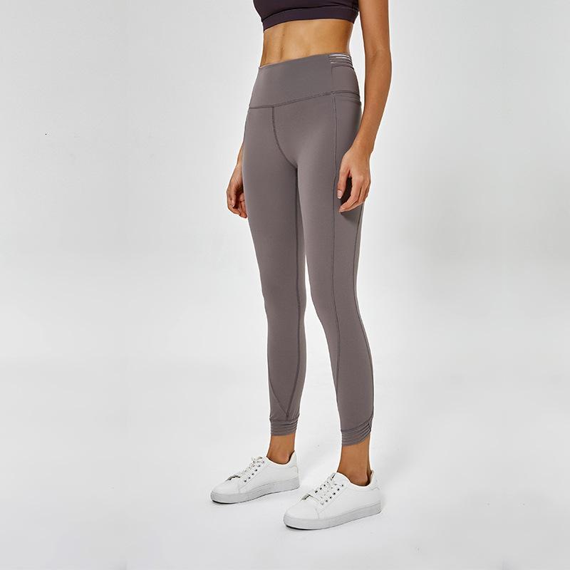 In Naked Gefühl Spell Yarn Yoga Pants Weibliche Gao Taille elastische Kraft Strahl Fuß Neun Rennen Punkte Fitness Kleidung