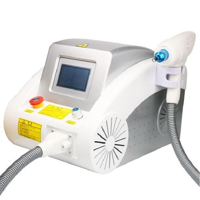 Taşınabilir S 1320nm / 532nm / 1064nm ND Yag Lazer dövme çıkarma makinesi kaş pigment kaldırma karbon soyma güzellik Anahtarlamalı