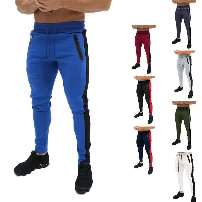 Joggers autunno Sport Abbigliamento Fitness pantaloni della tuta dei pantaloni della matita dei pantaloni Mens Primavera