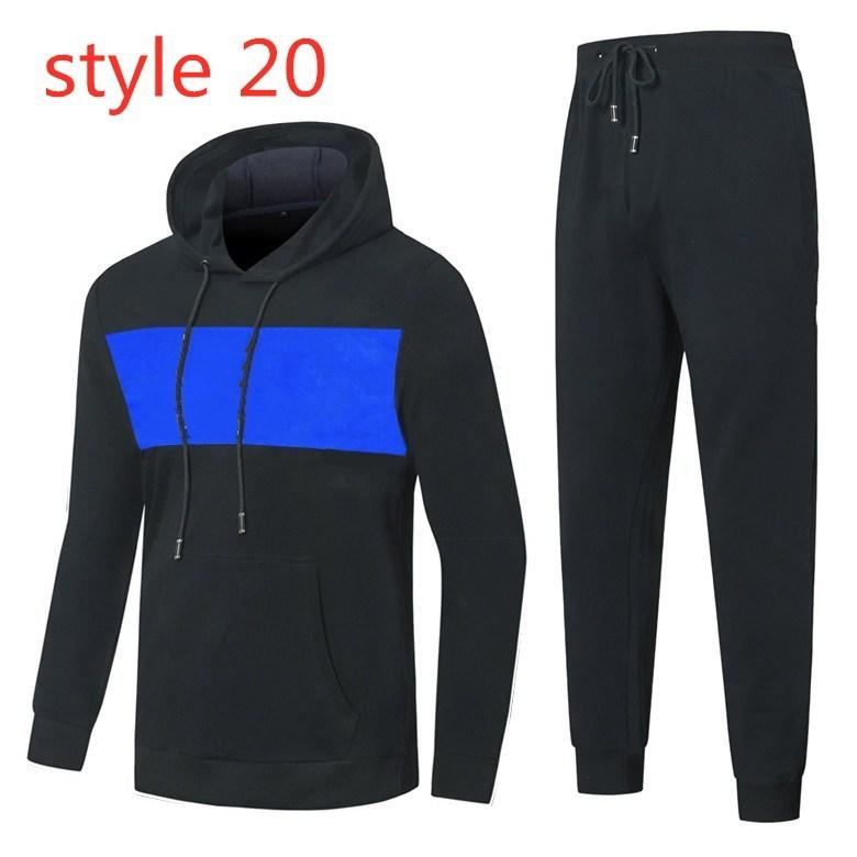 Tracksuits de designer esportes dos homens da marca Giorgio Itália adequar roupas de outono homens de esportes de inverno ocasional juventude desgaste tendência sportswear coreano