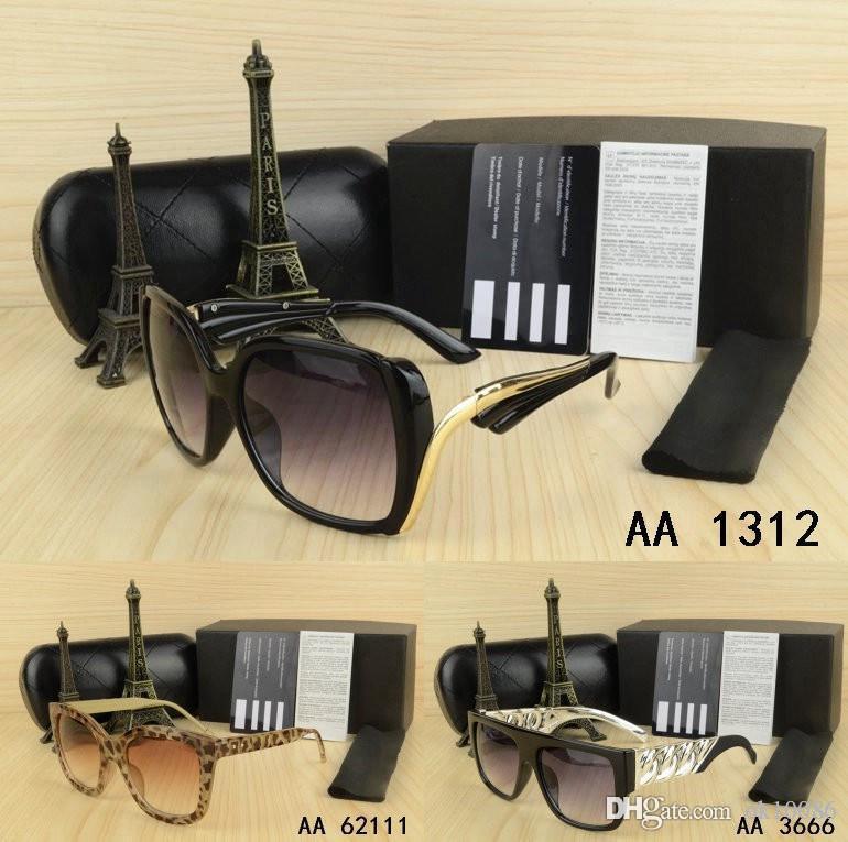 Hot Best Vintage Brand men women Sunglasses with Luxury origianal box kaka Retro eyeglasses classical glasses Driving Goggle Outdoor fishing